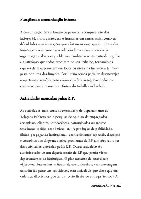 Comunicaçao interna - Word