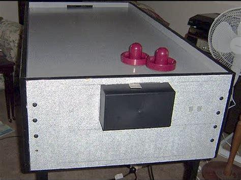 diy air hockey table recycled air hockey table home made