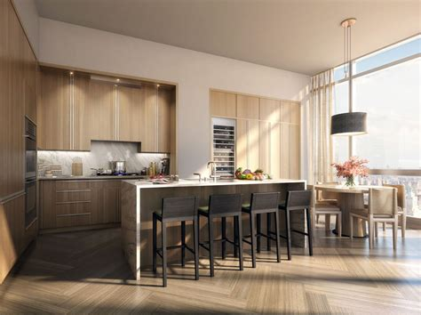Open Kitchen New York by Manhattan New York Penthouse Apartment For Sale At One