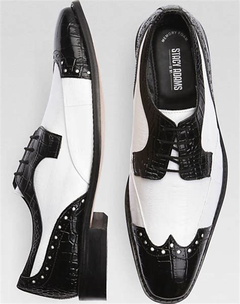 black white wingtip oxford shoes dragoncon
