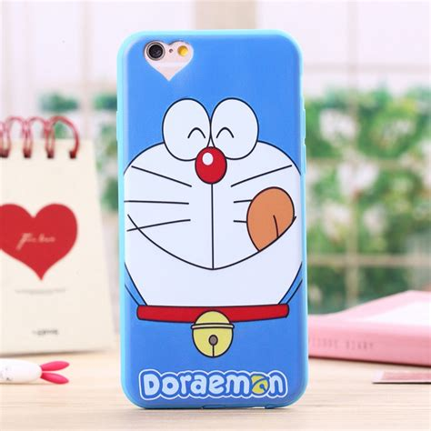 Iphone 6 Casing Silikon Doraemon Standing for iphone 5 5s cases soft silicone doraemon phone cover for iphone 5 5s new