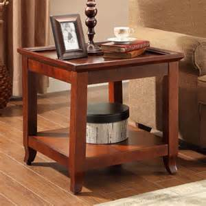 view parquet end table deals at big lots