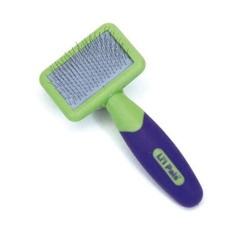 slicker brush for dogs li l pals slicker brush for dogs