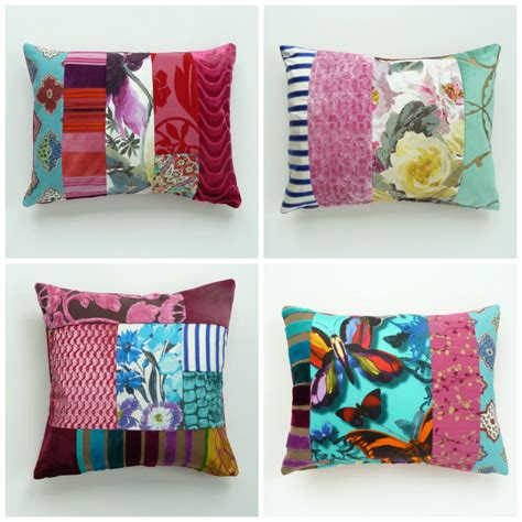 Patchwork Designers - contemporary patchwork cushions by suzy newton fresh