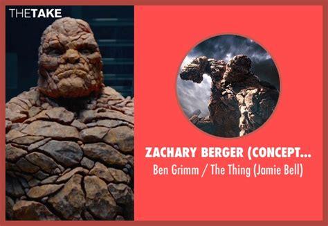 zachary berger actor jamie bell zachary berger concept designer ben grimm