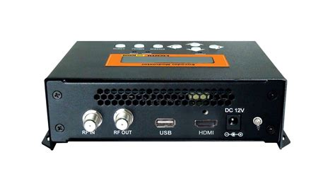 Modulator Tv Digital futv4622 dvb t mpeg 4 avc h 264 hd encoder modulator tuner hdmi in rf out with usb upgrade