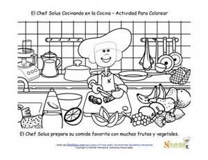 plan de cuisine am駭ag馥 cocinar con los ni 241 os p 225 chef solus para