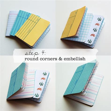 How To Make Handmade Notebooks - 40 best images about cool notebooks on sad