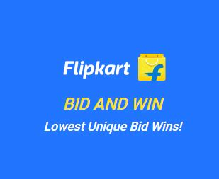 bid and win flipkart bid and win contest winners list how to play