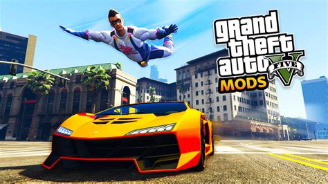 mod gta 5 flying gta 5 mods superhero flying mod fighting crime in los