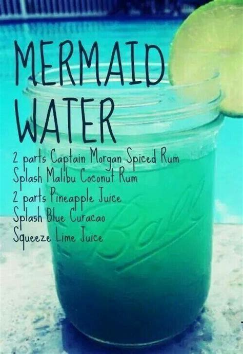 Mixed Memorable 9 Tx Oceanseven mermaid water drink recipe i ll drink to that mermaid water and recipes