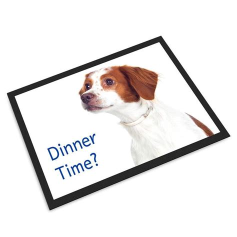pet mats personalised with photos and text by bags of