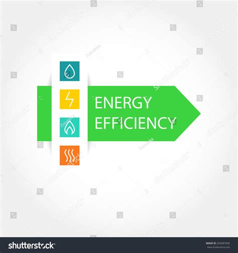 pattern energy rating pattern vector logo symbols natural resources stock vector