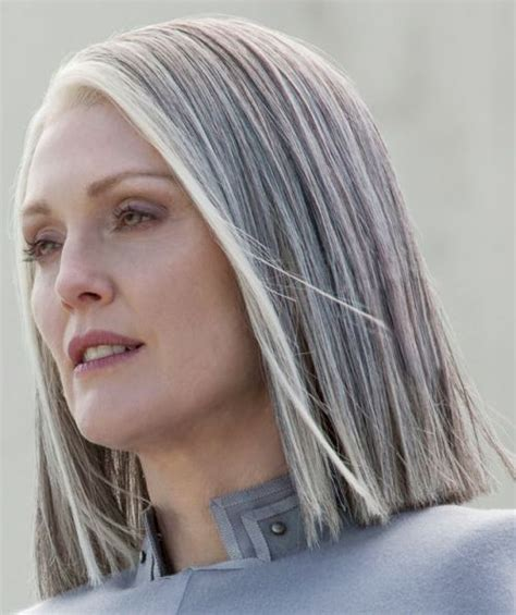 long hairstyles for salt and pepper bair 1446 best gorgeous gray hair images on pinterest grey