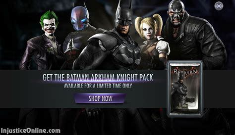 us mobile injustice gods among us mobile arkham booster pack