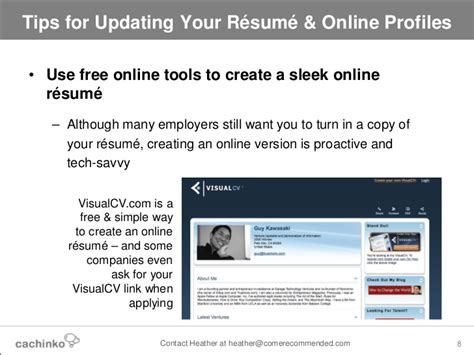 still searching tips for updating your resume profiles