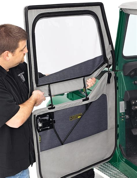 How To Take Doors A Jeep Wrangler by Bestop 2 Soft Front Doors For Jeep Wrangler