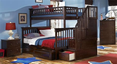 twin over queen bunk bed with stairs full over full bunk beds for large family full over queen