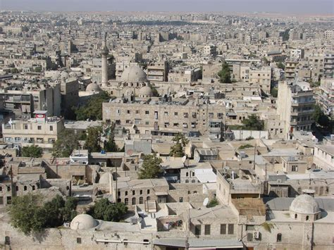 Search The Citadel File Aleppo From The Citadel Jpg