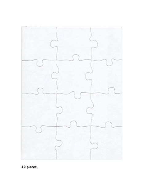 blank puzzle template blank puzzle templates
