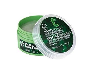 Masker Wajah The Shop masker tea tree uh mengatasi jerawat