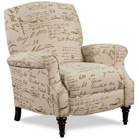 pattern fabric reclining chairs lane 32 quot pattern upholstered push back recliner i love