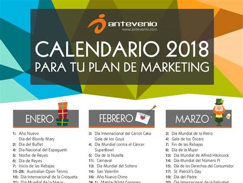 calendario de contribuyentes especiales 2018 ks7000 wp calendario para tu plan de marketing de 2018 161 ya lo tienes