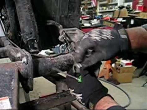 pt honda trxfw rear axle bearing brake repair  doovi