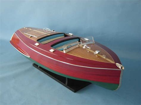 radio control chris craft boats buy rc chris craft dual cockpit 32 inch model ships