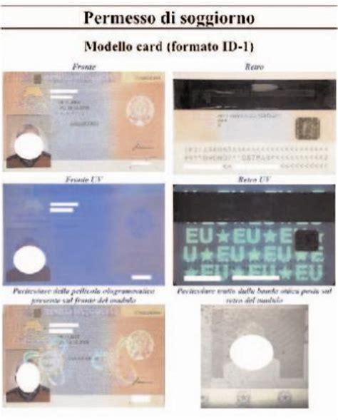 permesso di soggiorno elettronico numero i vari aspetti dell identificazione personale
