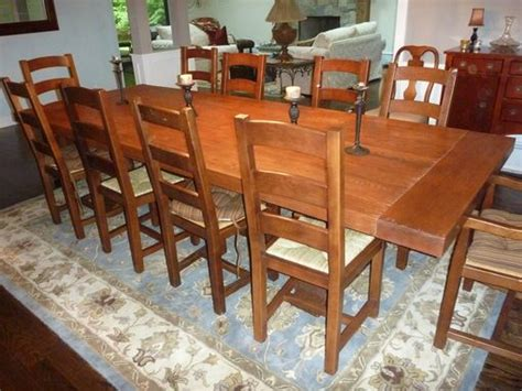 custom made dining room tables crafted dining room table top by ajc woodworking