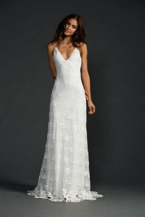Casual Wedding Dresses casual wedding dresses for the minimalist modwedding