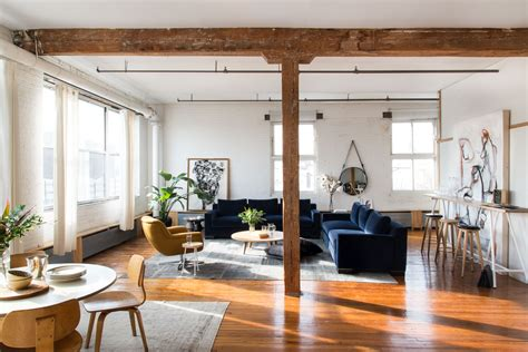 brooklyn loft ideas bright brooklyn loft becomes cozy bachelor pad curbed