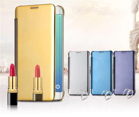 Samsung S7 Flat S7 Clear View Flip Cover Mirror Autolock flip cover clear sview celular samsung galaxy s7 flat g930f r 69 99 em mercado livre
