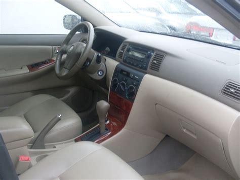 Toyota Corolla Leather Seats 2005 Model Toyota Corolla Leather Seats Autos Nigeria