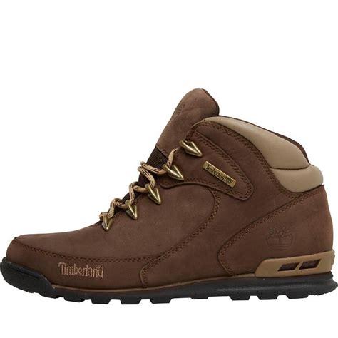 buy timberland boots buy timberland mens rock hiker nubuck boots brown