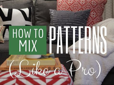 Hgtv Pro Sweepstakes - how to mix patterns like a pro hgtv crafternoon hgtv