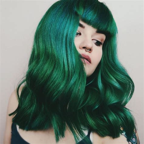 hair colors for green 25 best ideas about green hair colors on