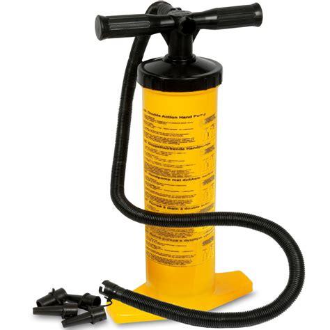 bett 2x2 luftpumpe doppelhub pumpe standpumpe pool boot handpumpe