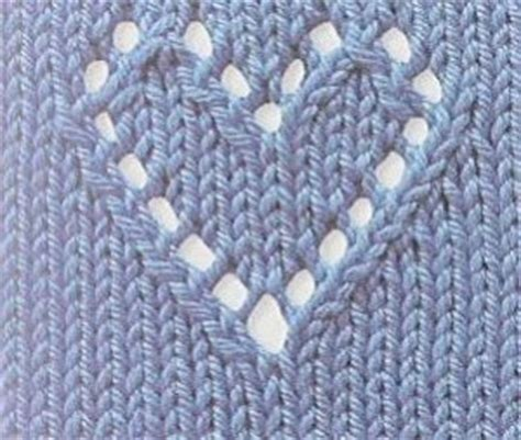 lace heart pattern knitting heart motif knitting pattern bing images