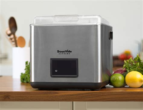 sousvide supreme sousvide supreme touch cooking device 187 gadget flow