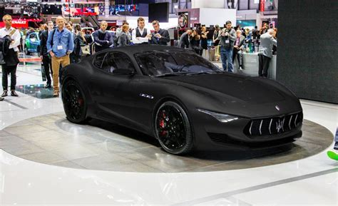 all black maserati 2017 electric maserati alfieri what took them so long