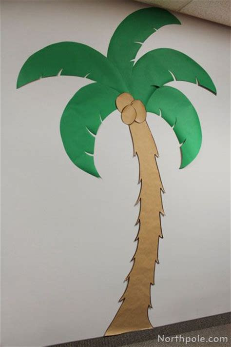 How To Make A Bush Out Of Paper - 25 best ideas about palm tree decorations on