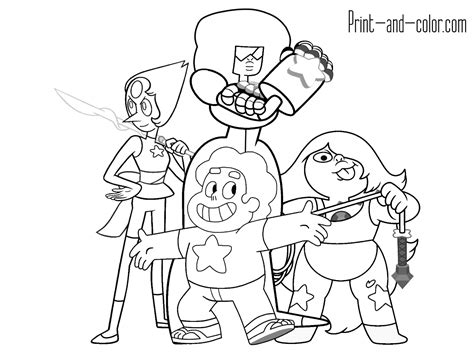printable coloring pages steven universe steven universe coloring pages printable coloring pages