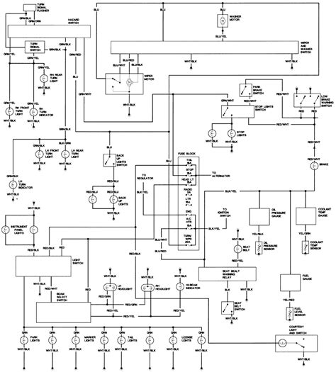 wiring harness diagram repair guides wiring diagrams wiring diagrams