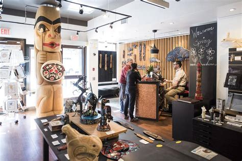 native themed hotel vancouver rub shoulders with aboriginal artists at this unique
