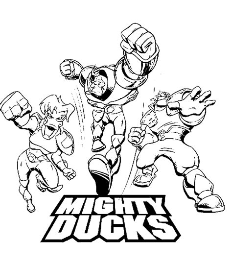 Mighty Ducks Coloring Pages | mighty ducks coloring pages coloringpagesabc com