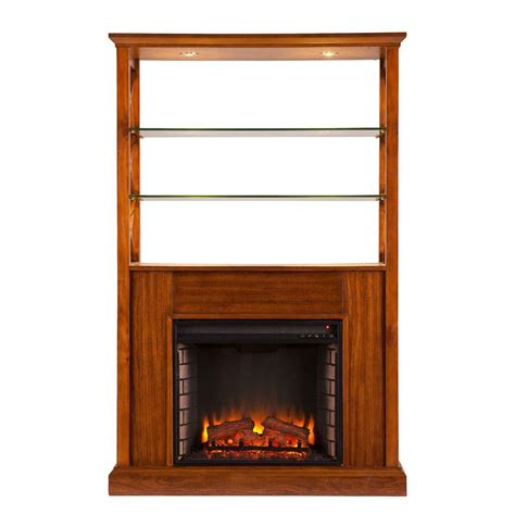 southern enterprises 40 in electric fireplace curio