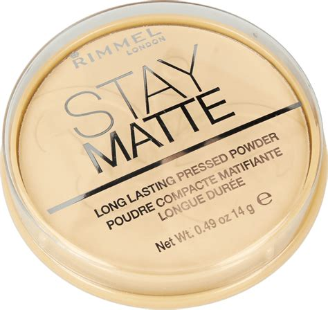 Rimmel Stay Matte Powder rimmel stay matte puder 001 14 g nr 109078