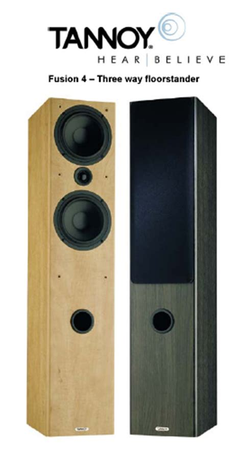 tannoy fusion  fi  home theater speaker systems